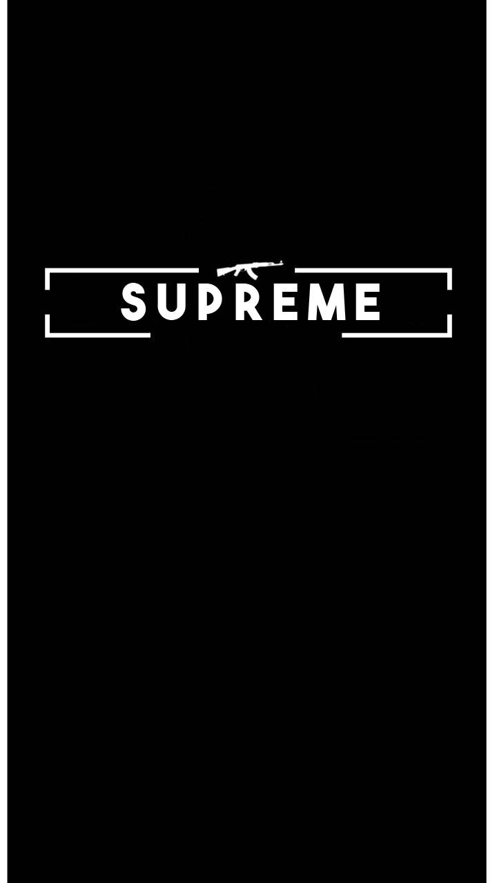 Supreme with AK-47