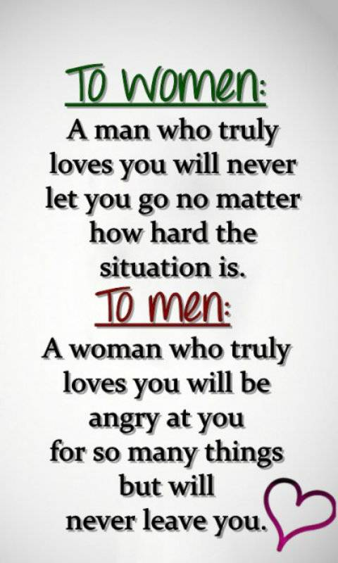 to women and men
