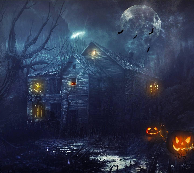 Halloween house