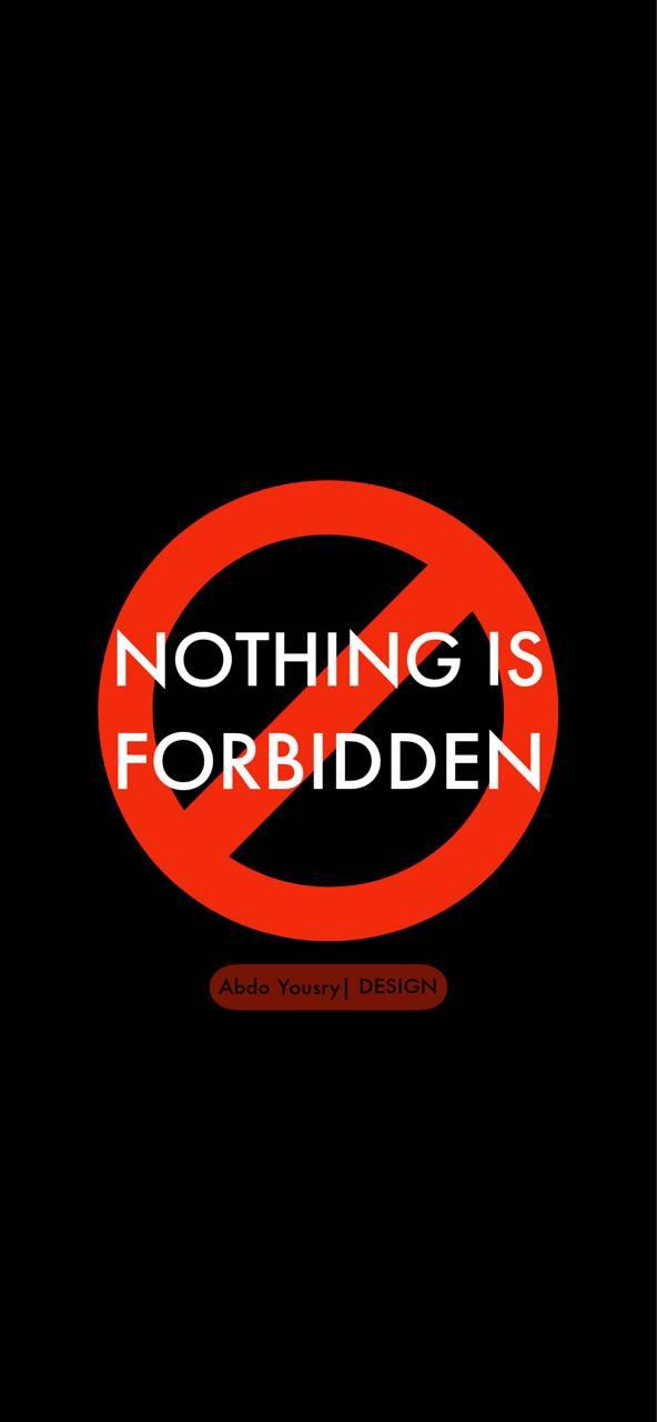 no forbidden