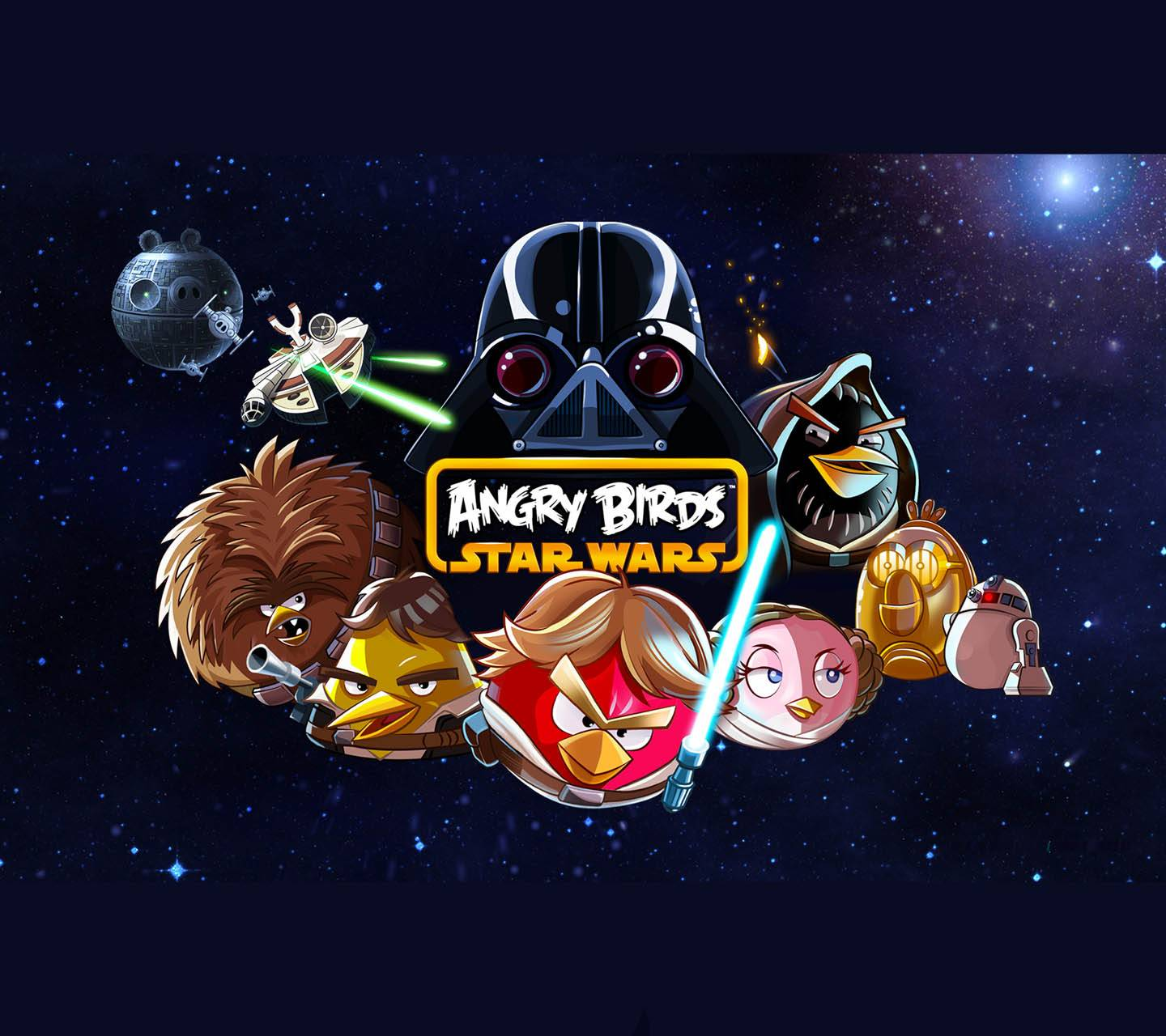 Angry Brds Star Wars