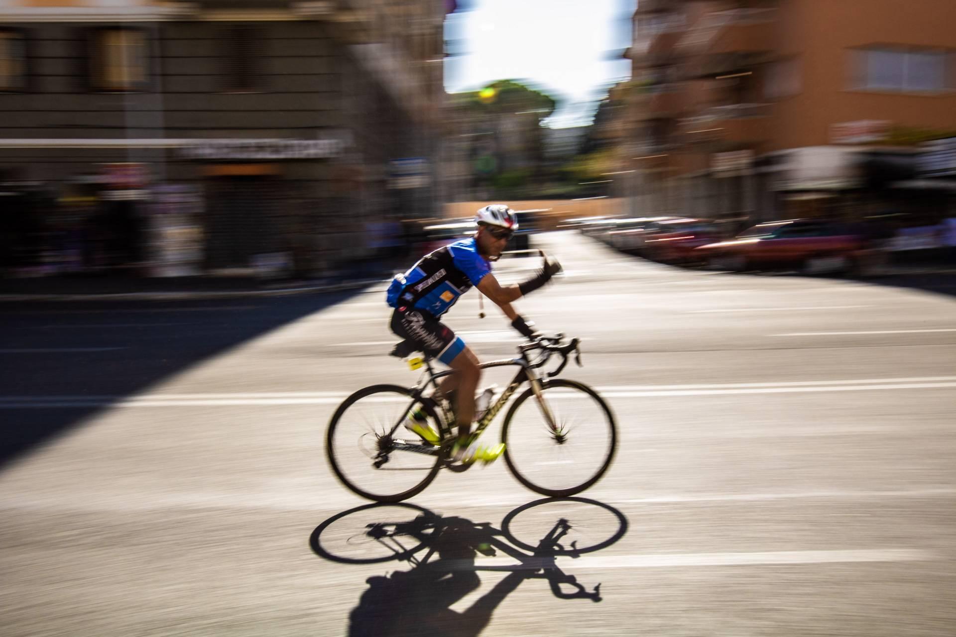Rome cyclist