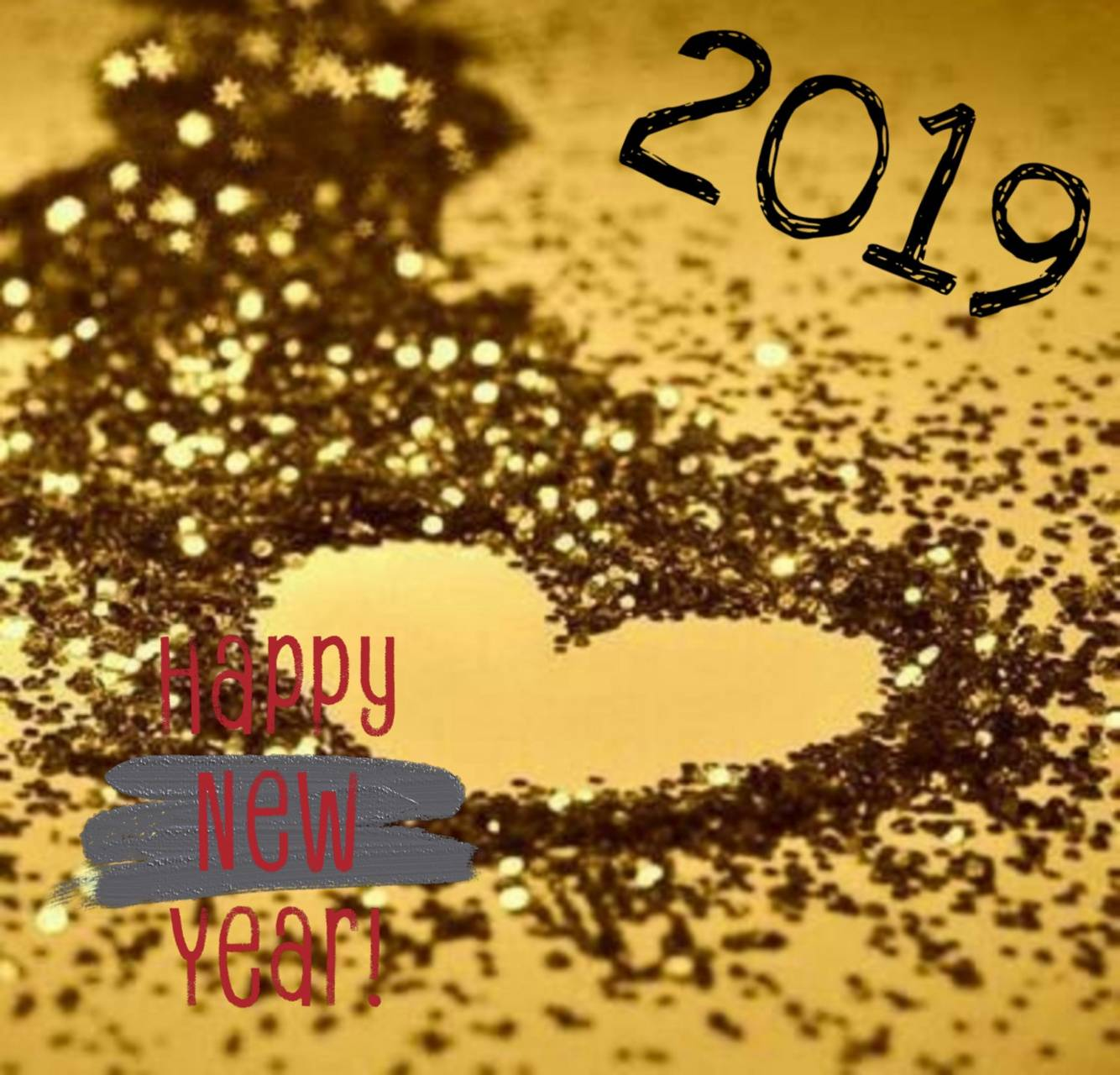 Glitter the New Year