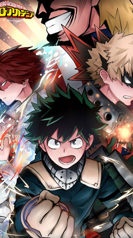 My Hero Academia Wallpaper Iphone Free Download Wallpaper
