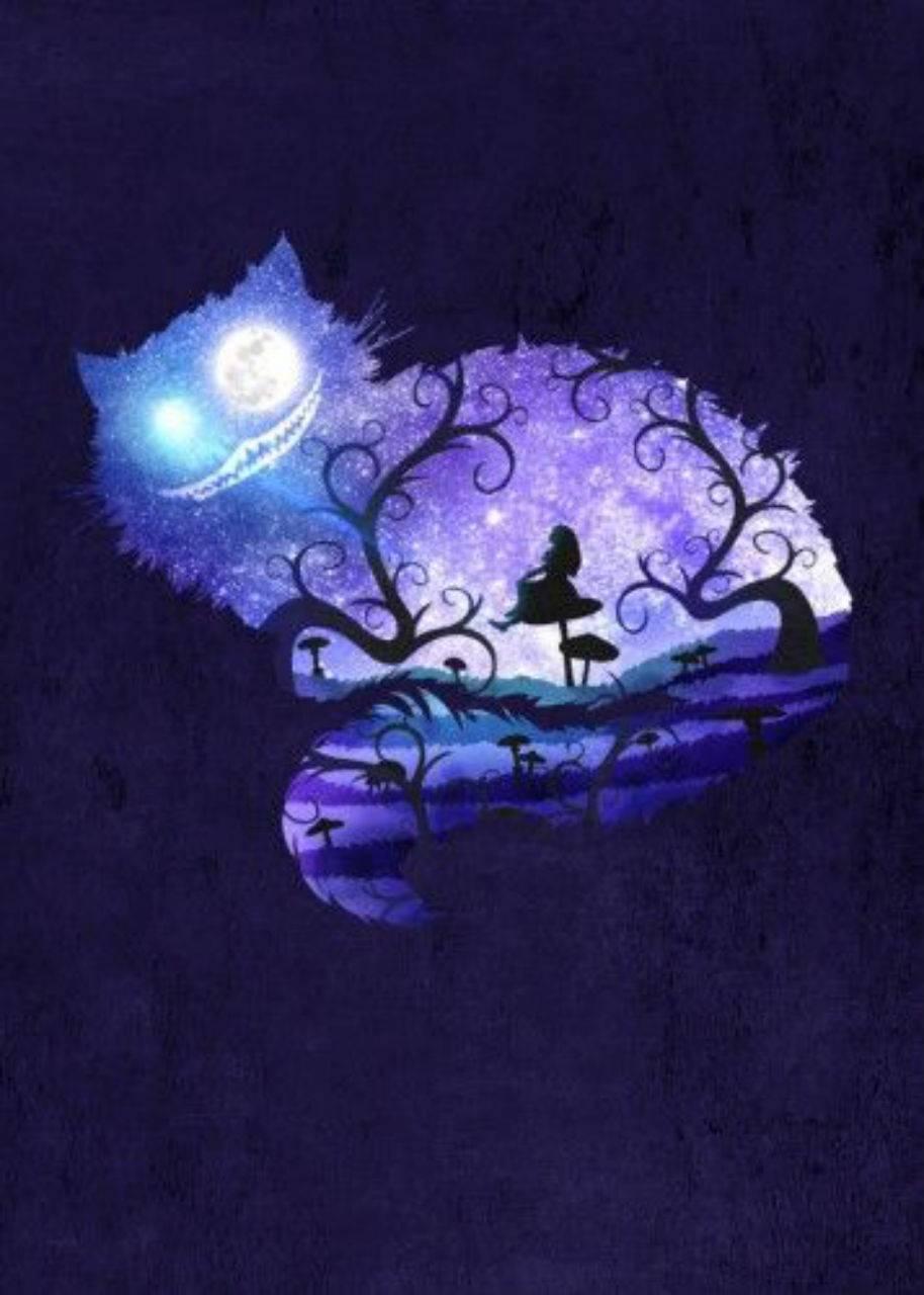 Cheshire and Alice