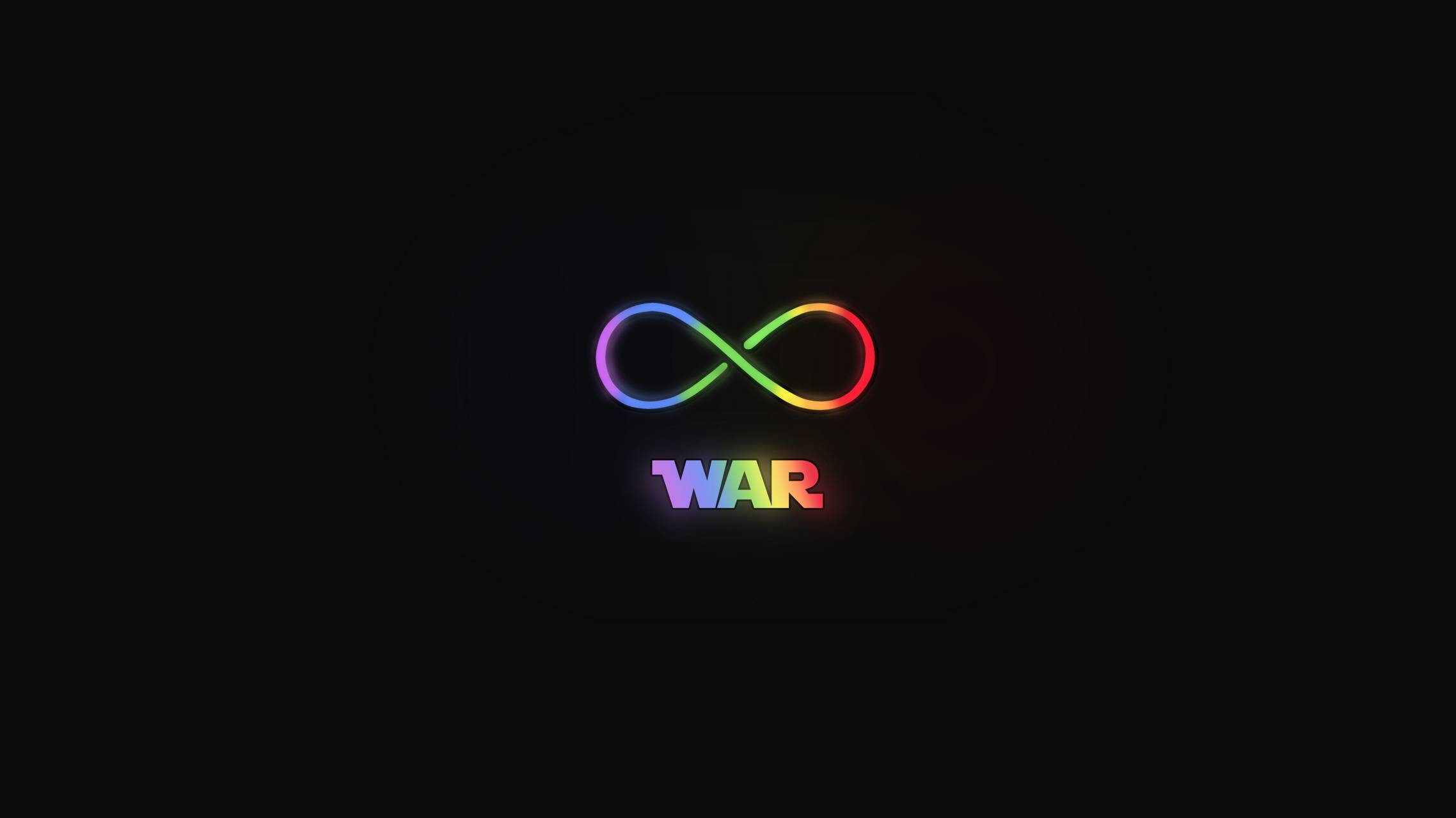 Infinity War neon