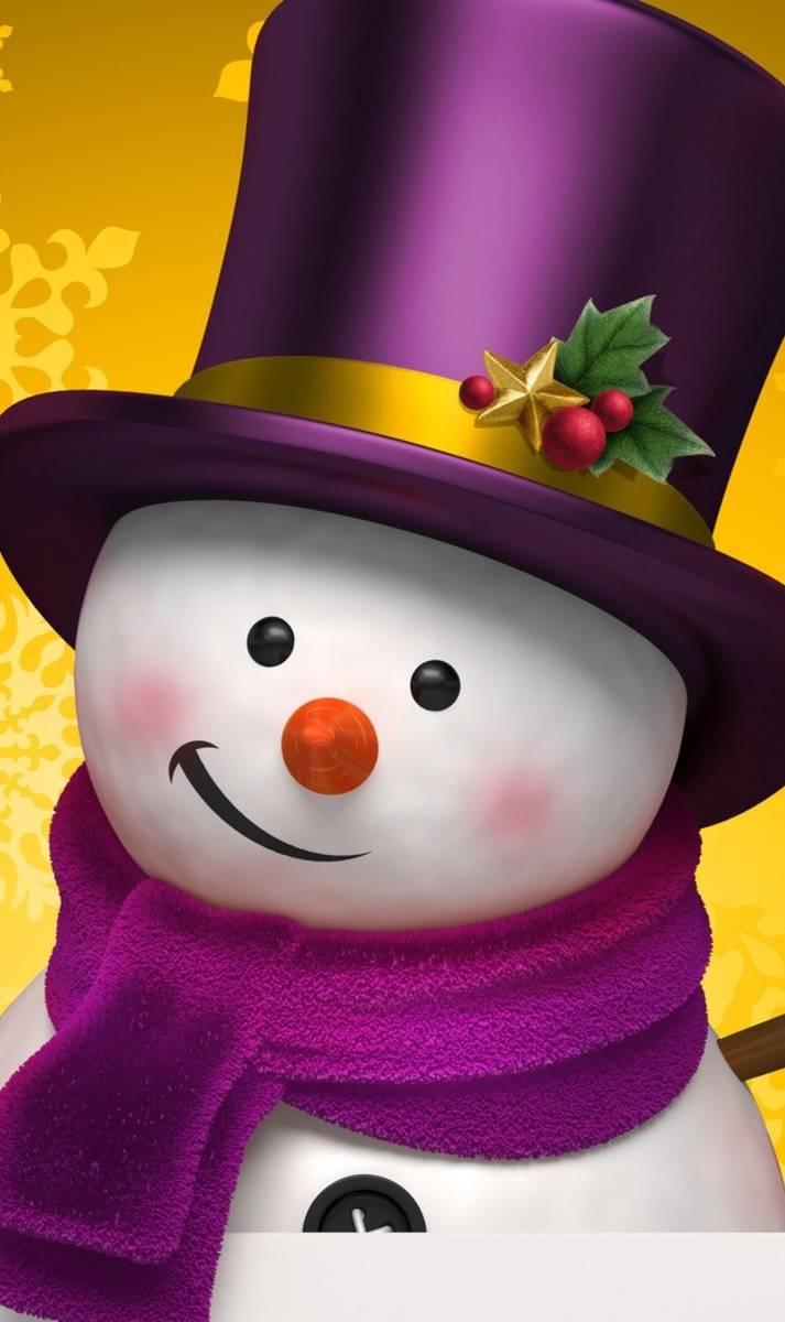 Картинки анимационные снеговик