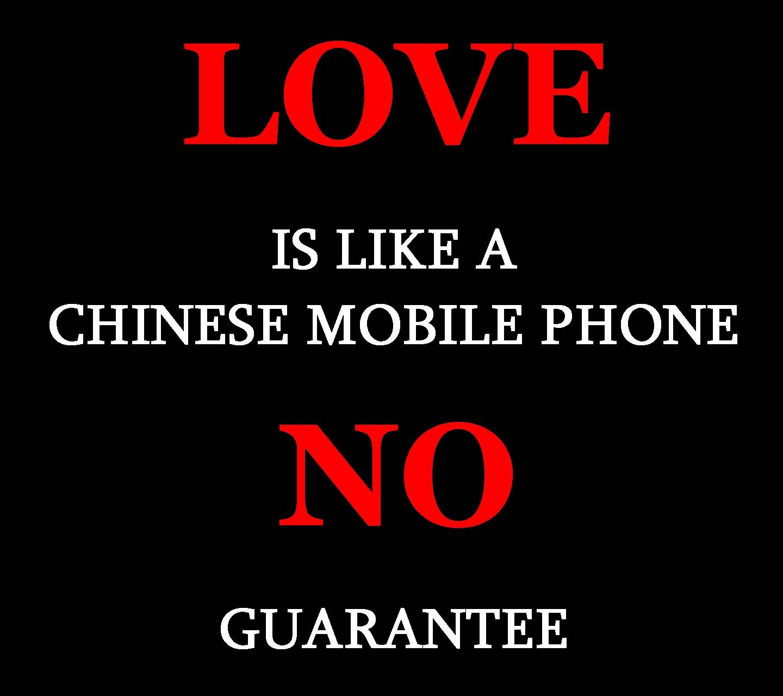 LOVE LIKE A CHINESE