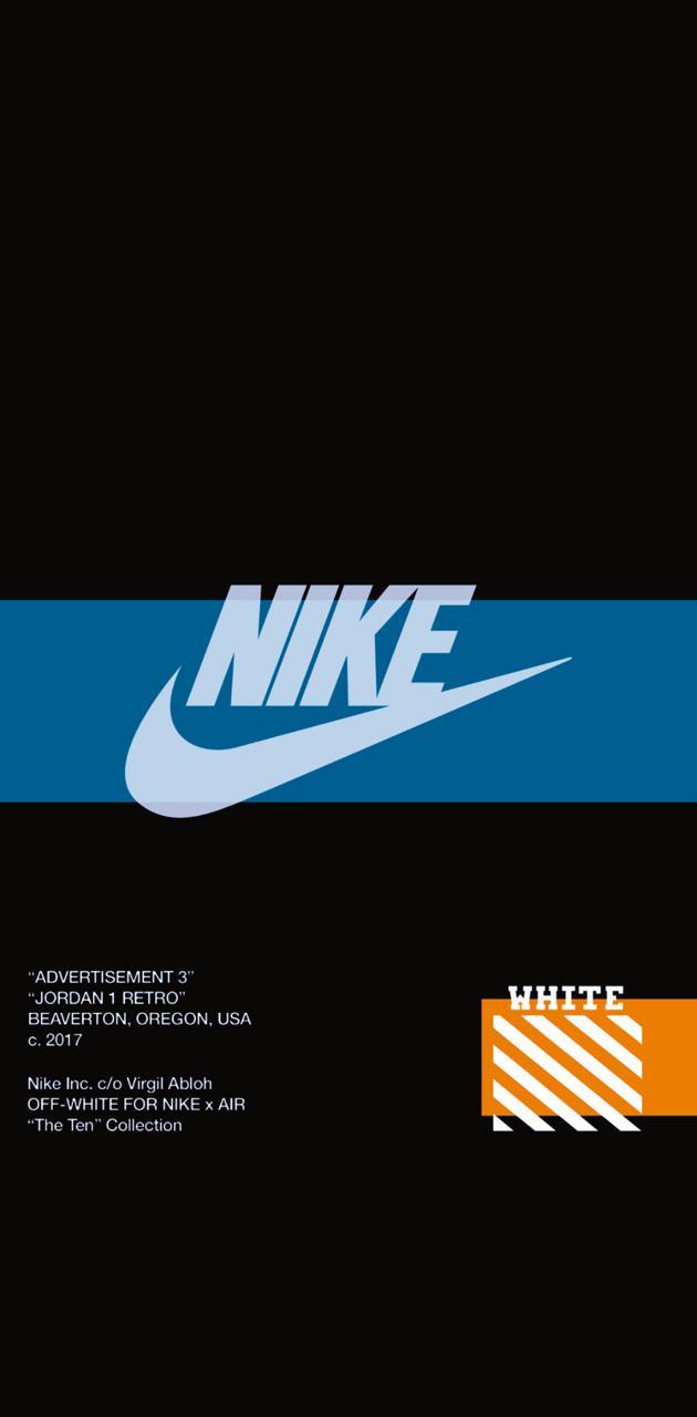Nike x Off White Blu