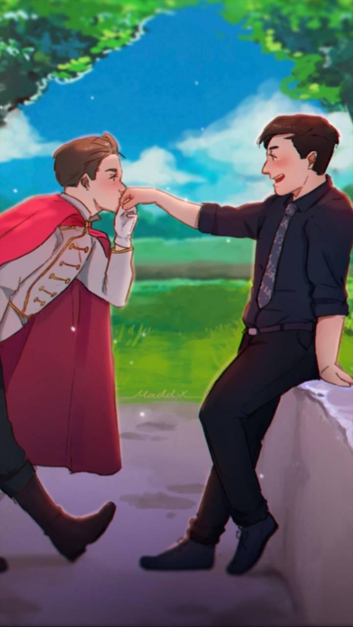 Roman and Thomas art