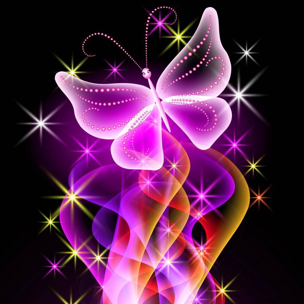 Abstract Butterfly Wallpaper By ____S