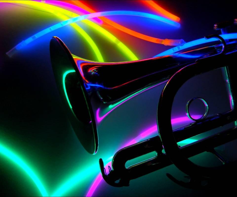 trumpet neon cornet backgrounds 1920 1200 tropkillaz remix feat hide similar