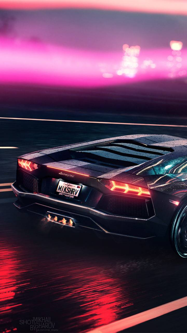 Lamborghini Neon Wallpaper By Pro Sqs 4a Free On Zedge