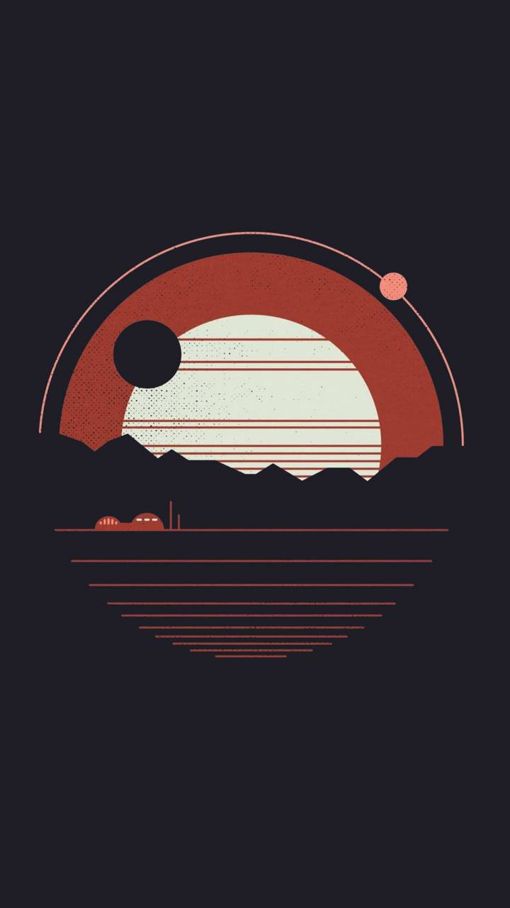 Material Sunset