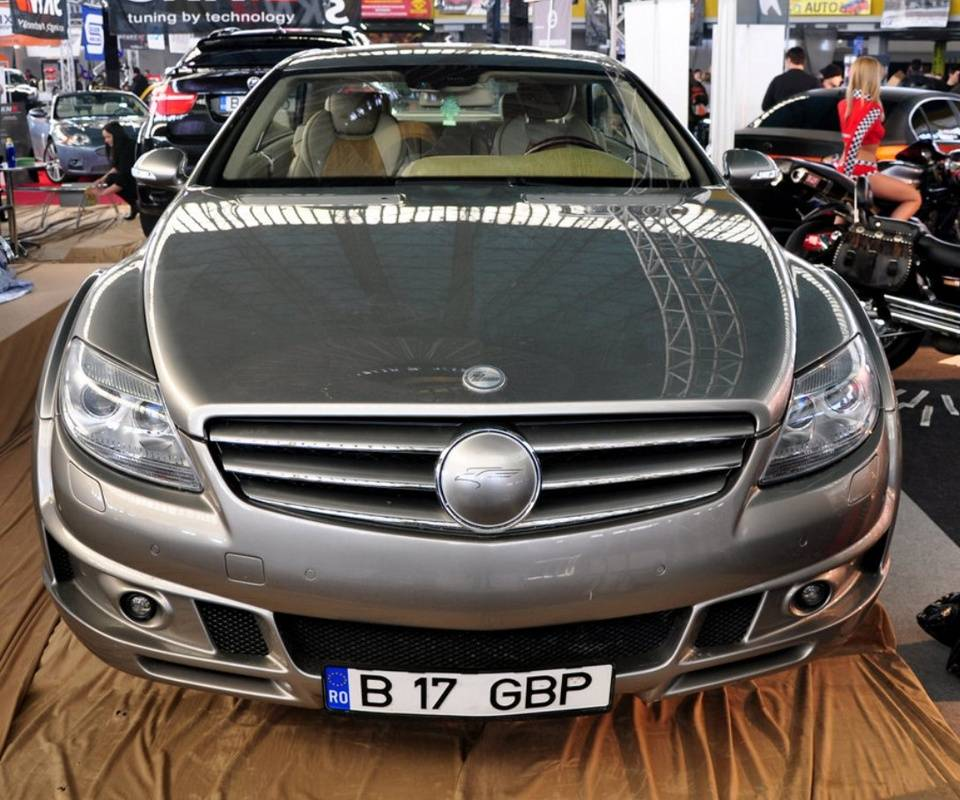 Cool Mercedes