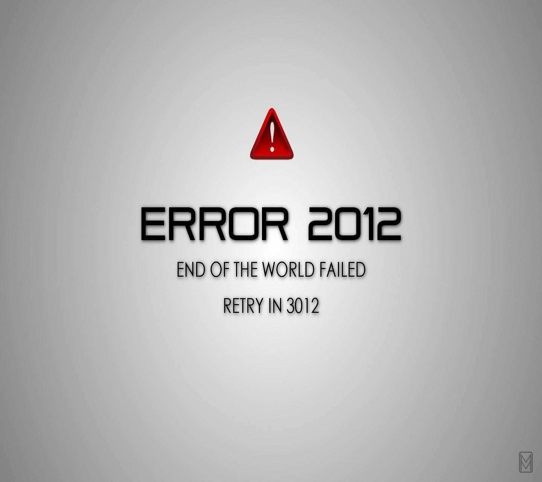 Error 2012