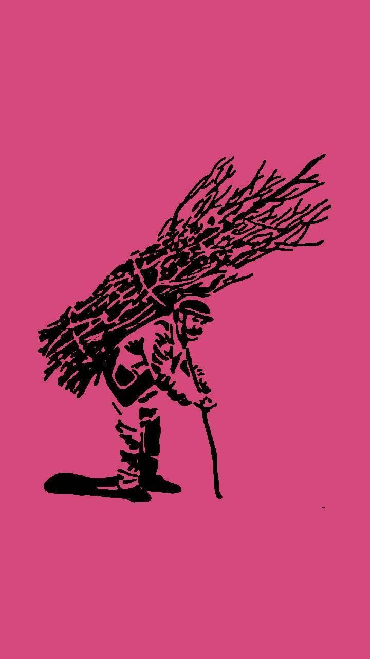 Sticks Guy Pink