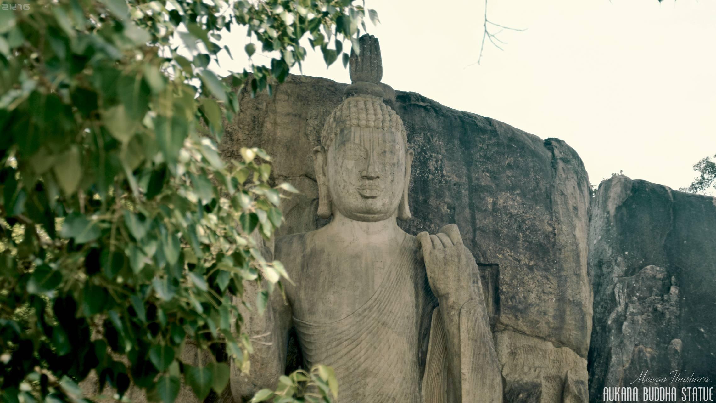 Aukana statue