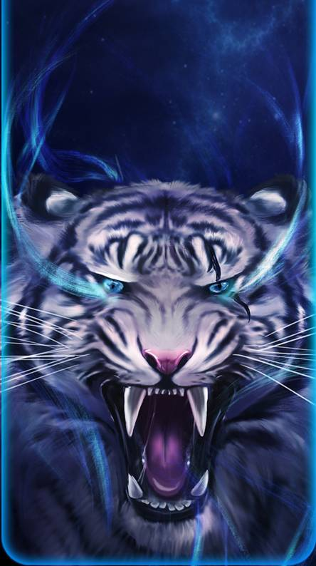 Blue Tiger Wallpapers Free By Zedge