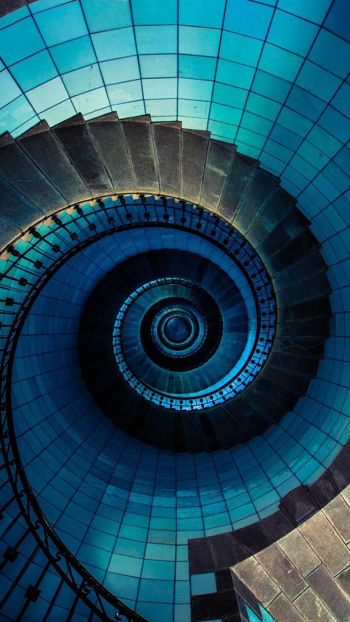 Spiral staircase 4K