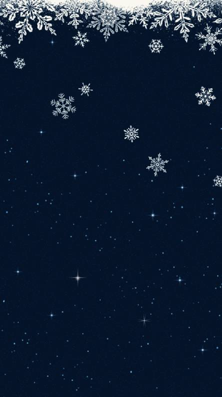 Winter window sky