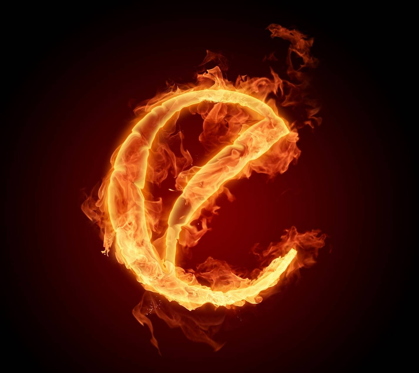 Letter E In Fire Hd Wallpaper By Mr Lazy 48 Free On