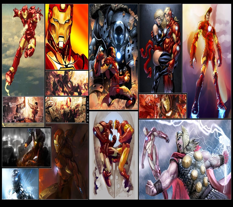 Iron Man Panels