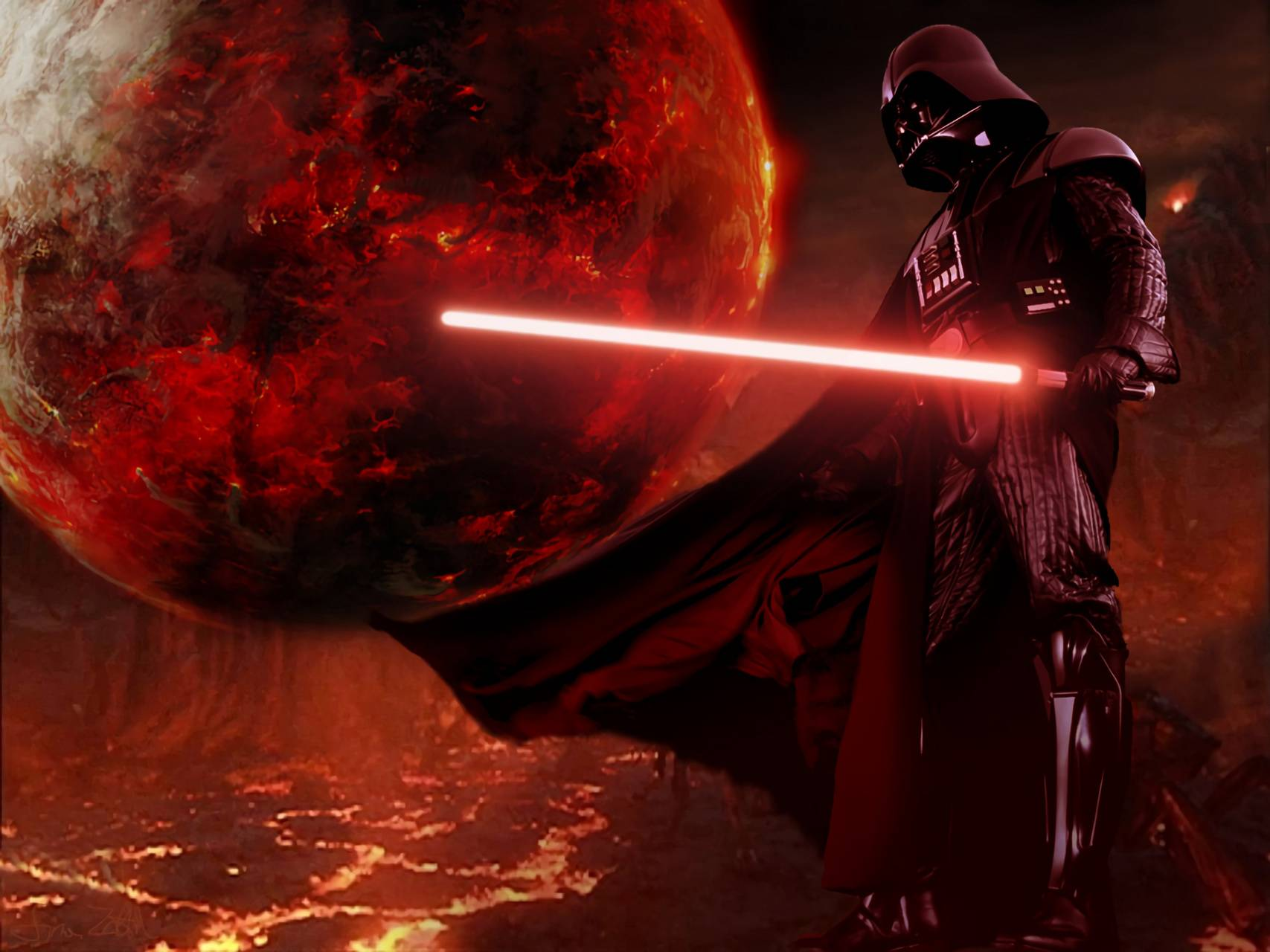 Vader Mustafar Wallpaper By Darthbaren 9a Free On Zedge