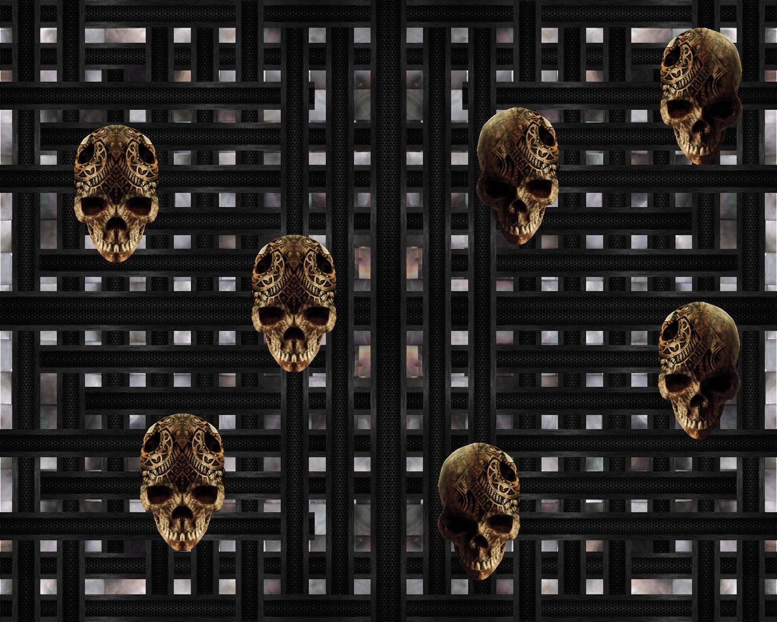 Bars and skulls