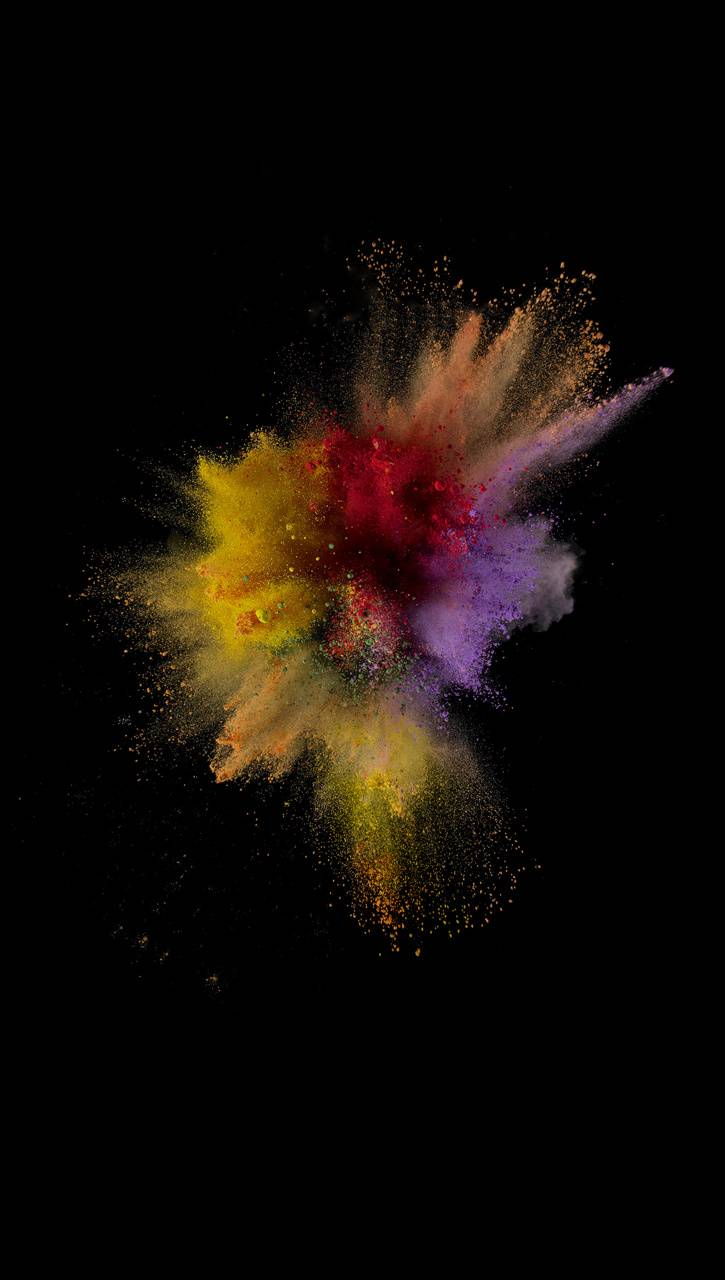 iOS 9 Color Abstract