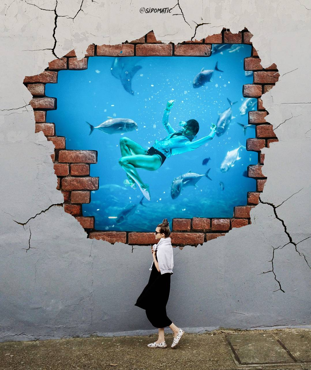 Wall tank