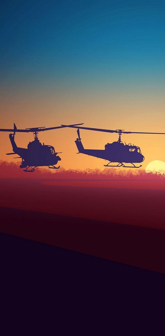Vietnam war huey