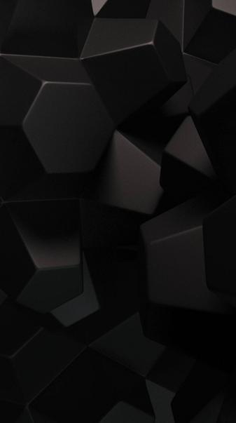 3D Black