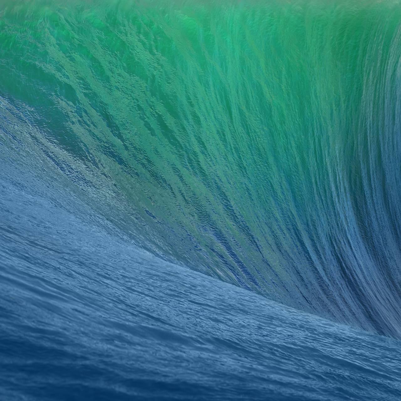 OS X Mavericks Wave
