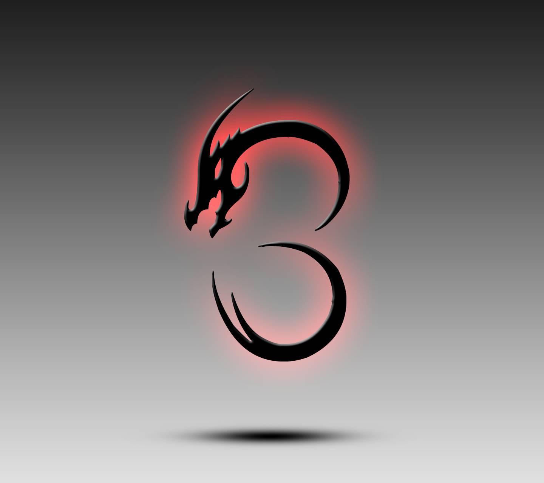 Dragon Alphabet B