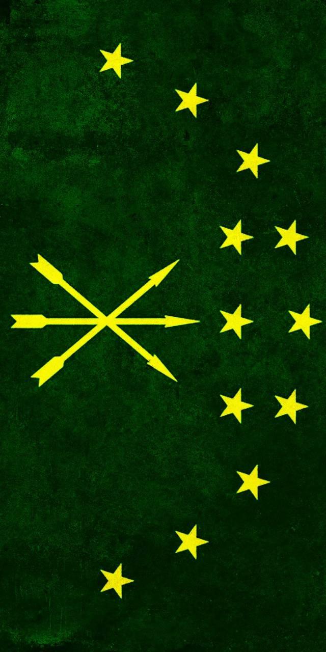 Flag Adige Cherkess