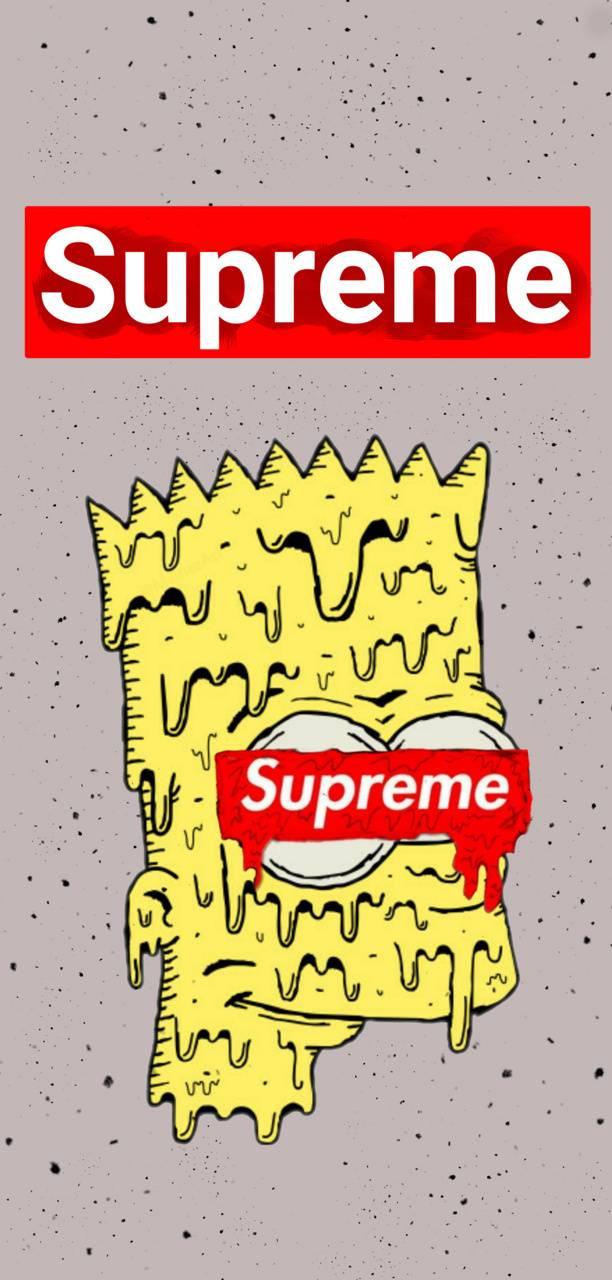 Supreme Bart Simpson Wallpaper By Xxrepyxx Ff Free On Zedge
