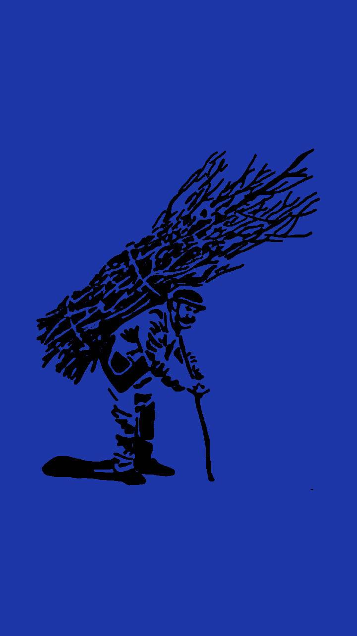 Sticks Guy Blue