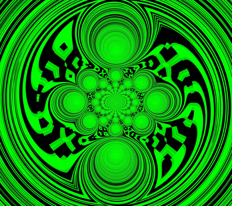 green blade