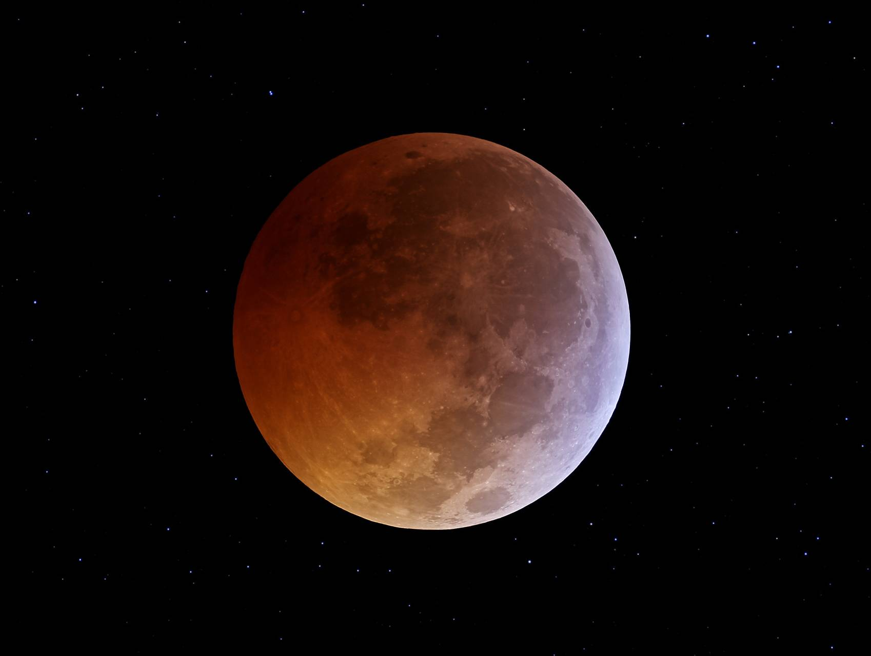 Eclipse-moon