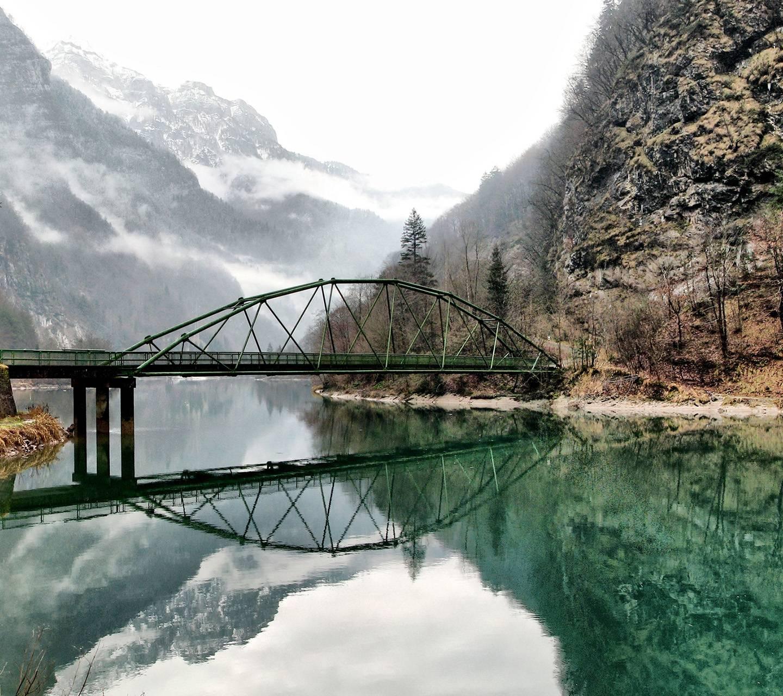 Mountain - Lake