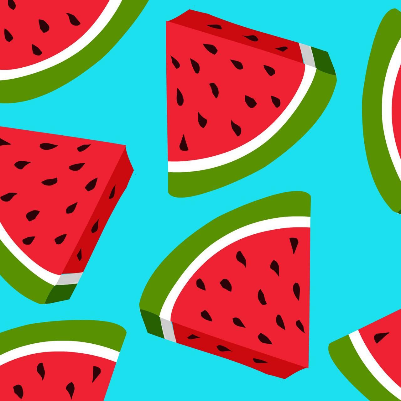 Cartoon Watermelon