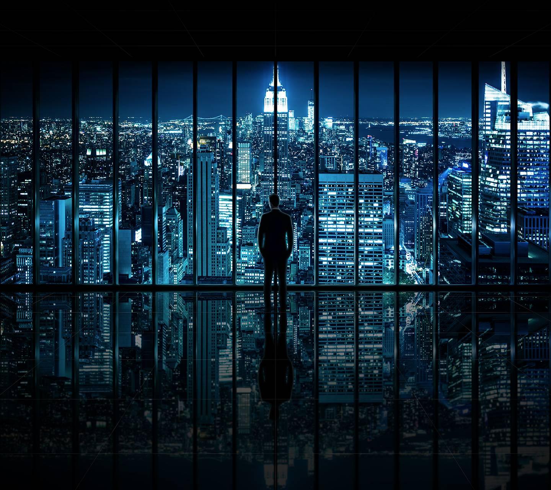 Window to Gotham Cit