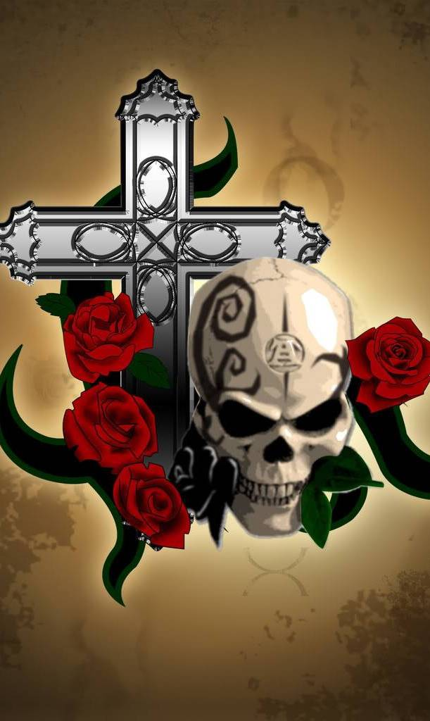 Skull N Cross