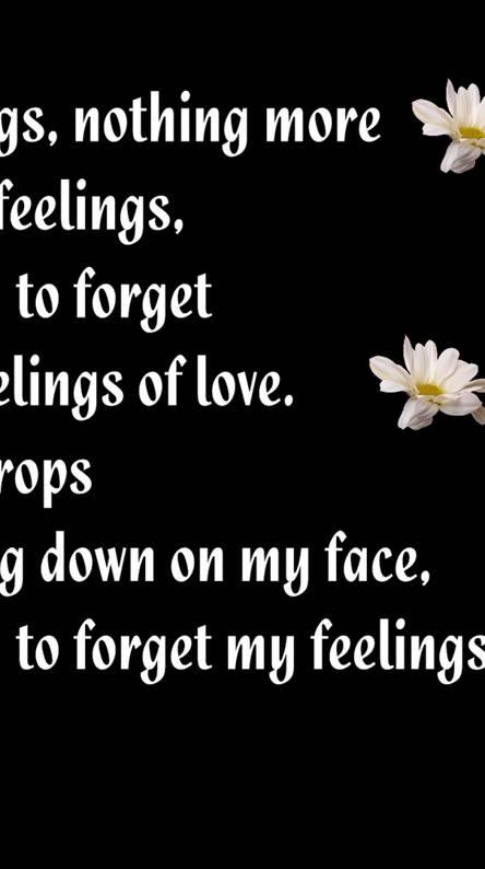 Feelings Nothing