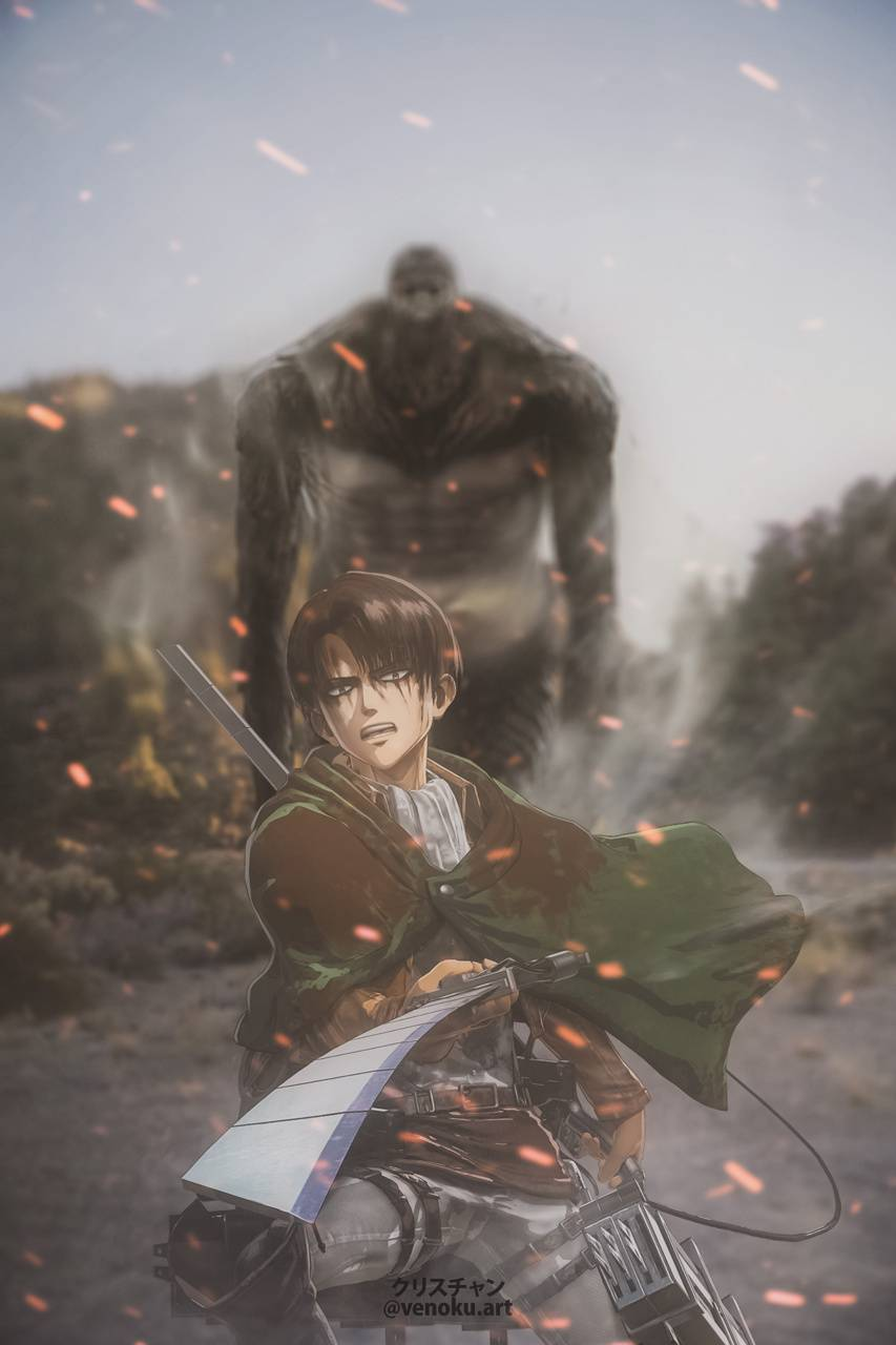 Levi Aot Wallpaper By Venokuart 28 Free On Zedge