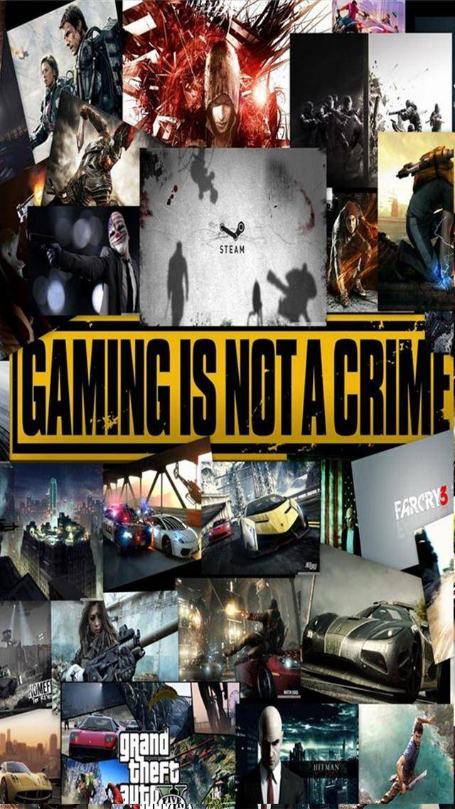 Gaming not a Crime