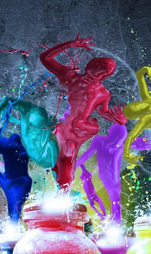 Dancing Colours