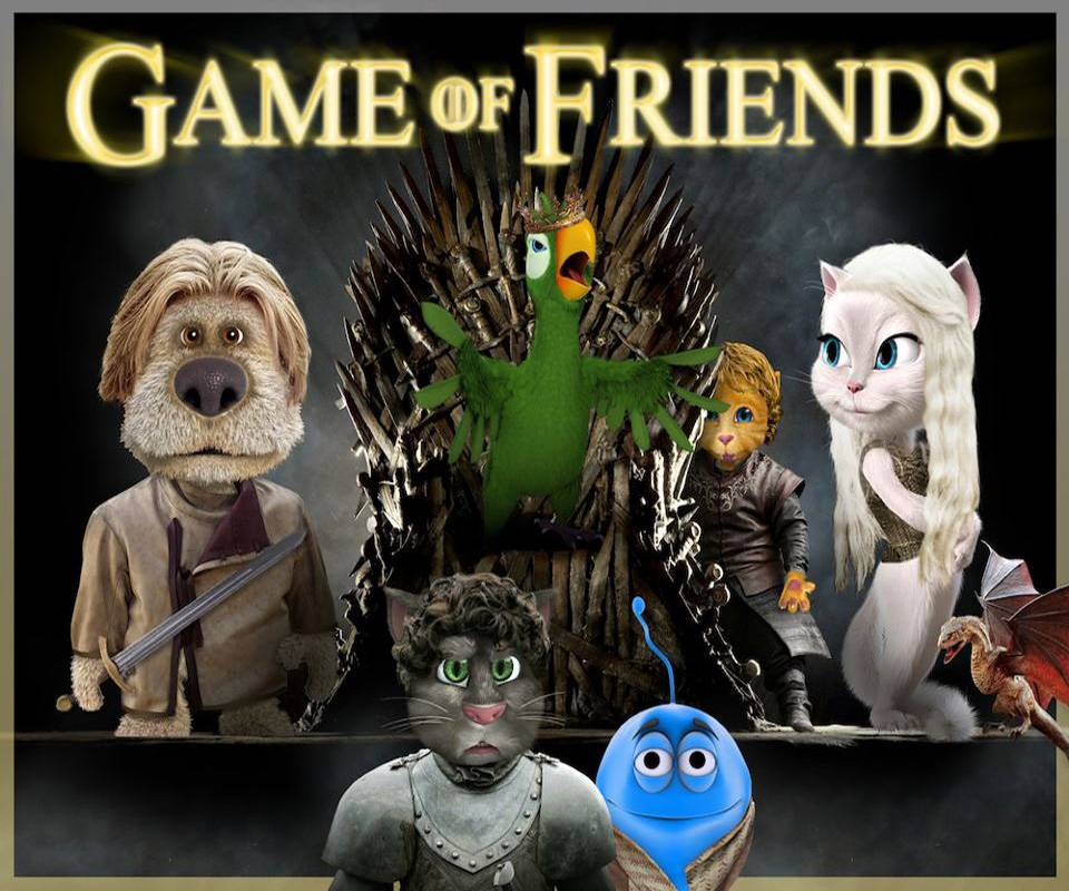 T Game Of Friends