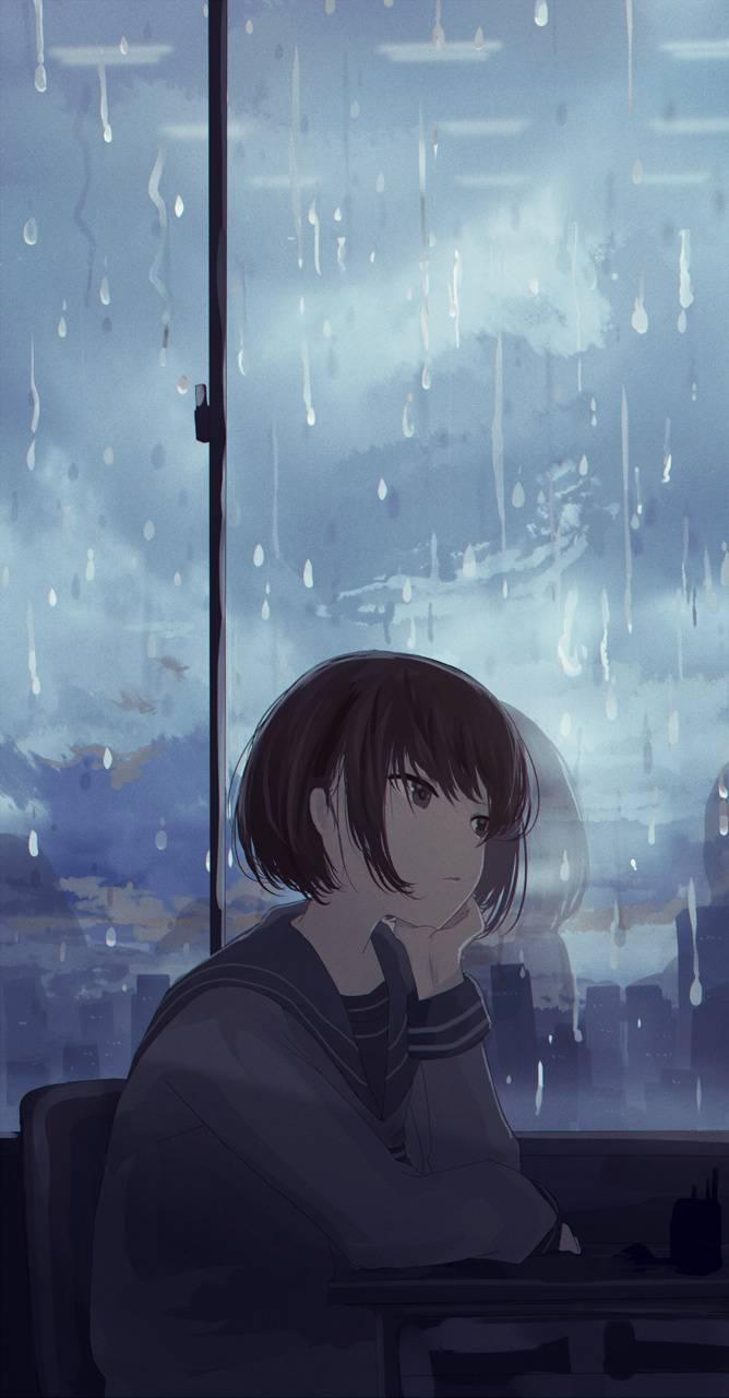 Sad Anime Rain